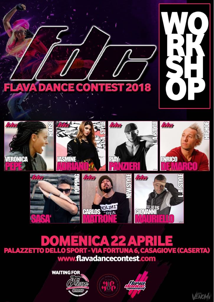 22 Aprile Workshop FDC018 Campania Selection