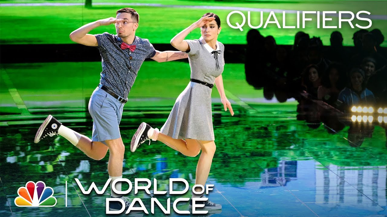 Joseph Tsosh e Alisa al World of Dance